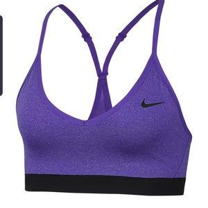 NWT Rare Nike Purple Padded Indy Sports Bra
